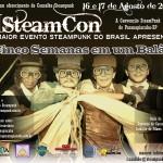 Grande Notícia: A Cia Sabre de Luz participará da II SteamCon!